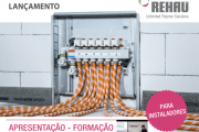 Lançamento Rehau - Piso Radiante Auto-fixante