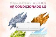 Tabela Ar Condicionado LG
